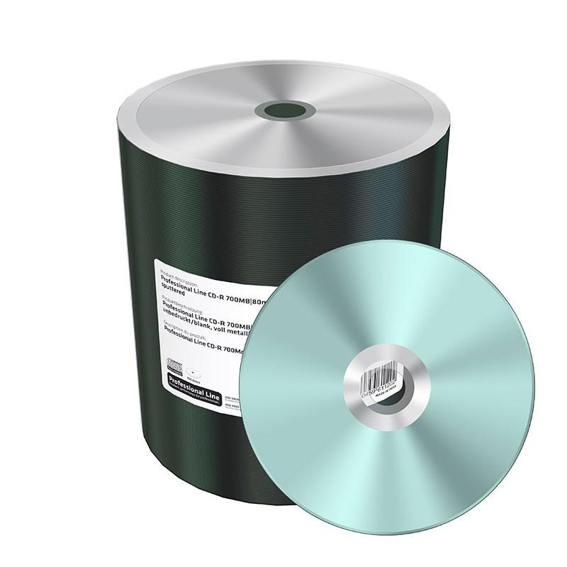 CD-R MediaRange Professional Line Silver 100 pcs MRPL508-C