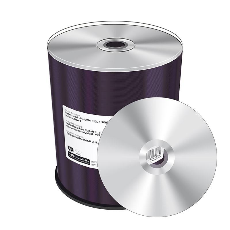 DVD+R Doble Capa 8x MediaRange Professional Line BLANK 100 uds