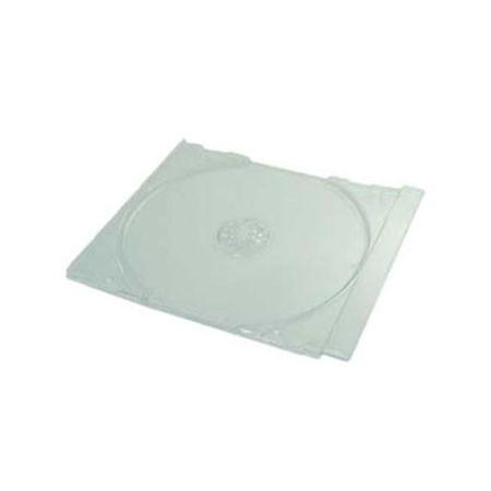 Bandeja para 1 cd tray jewelbox trans mediarange 200 uds  empaquetado automático