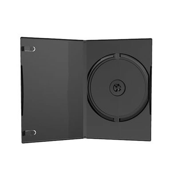 MediaRange Caja DVD Slim 7mm Negro Pack 50