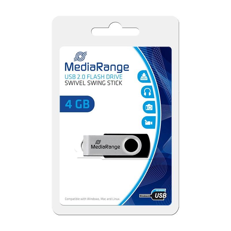 Pendrive 4GB MediaRange Flexi-Drive