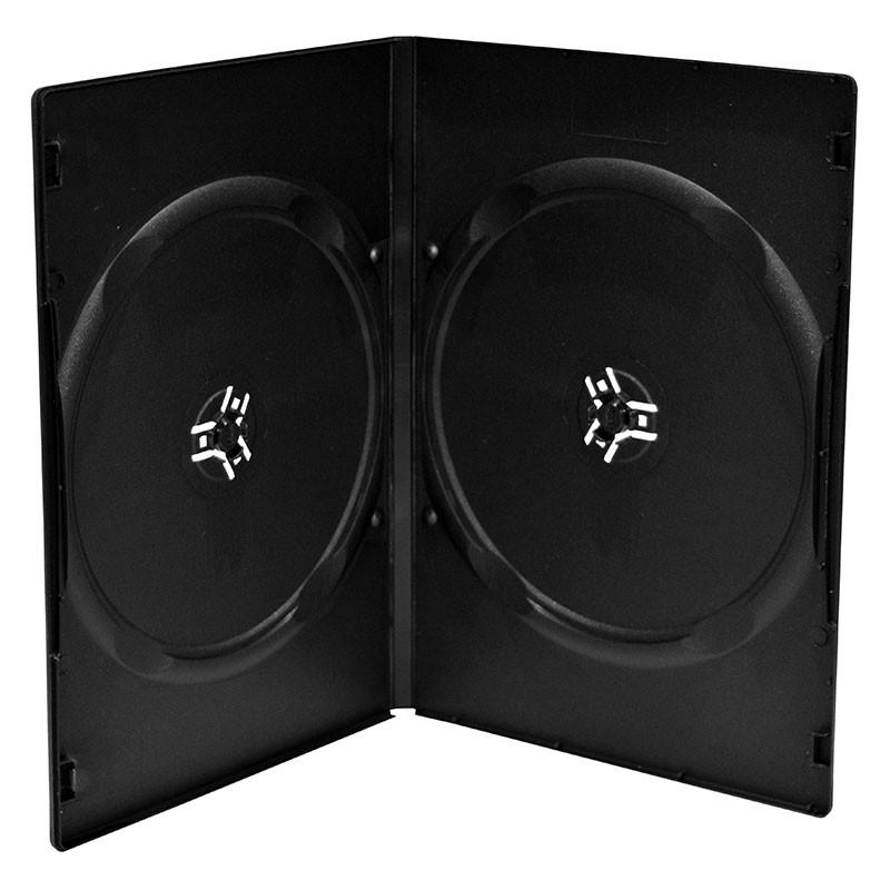 Mediarange Estuche DVD Doble Slim Pack 10 Uds.