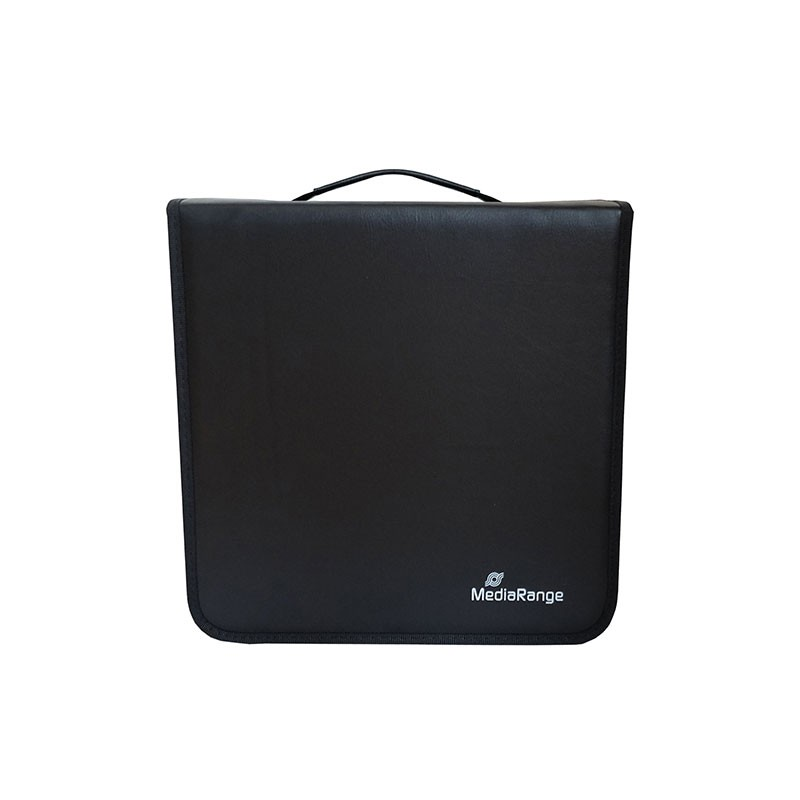 Archivador Nylon Mediarange 300 CD/DVD