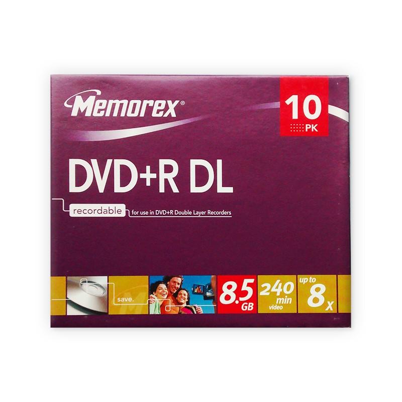 dvd-r-doble-capa-memorex-8x-caja-slim-10-uds