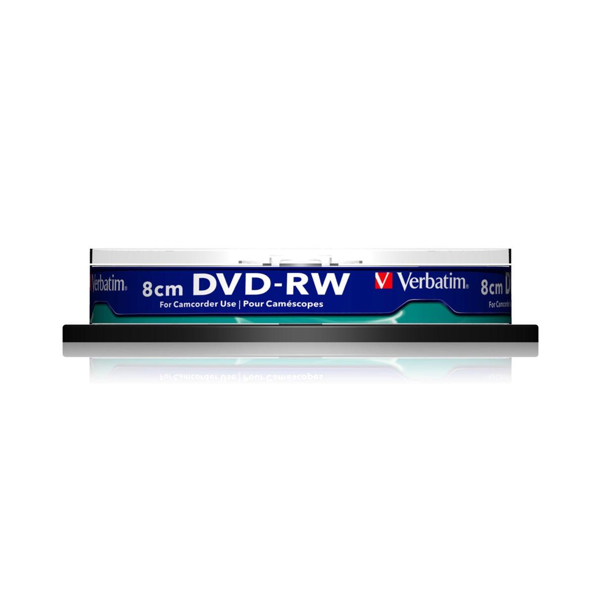 verbatim mini dvd rw 2x: