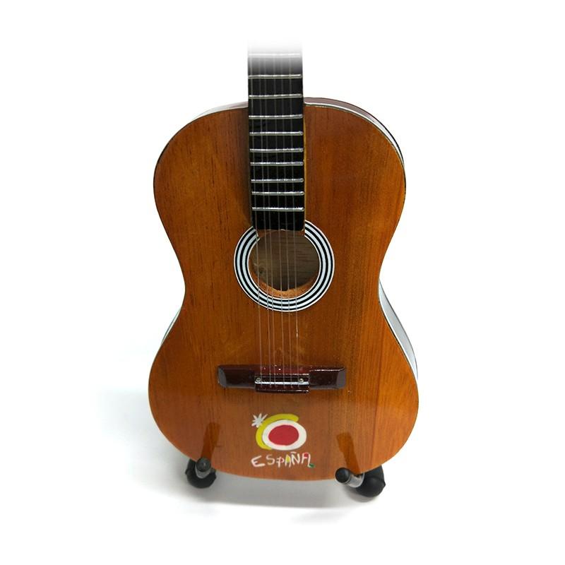 Mini Guitarra De Colección Tributo España -1