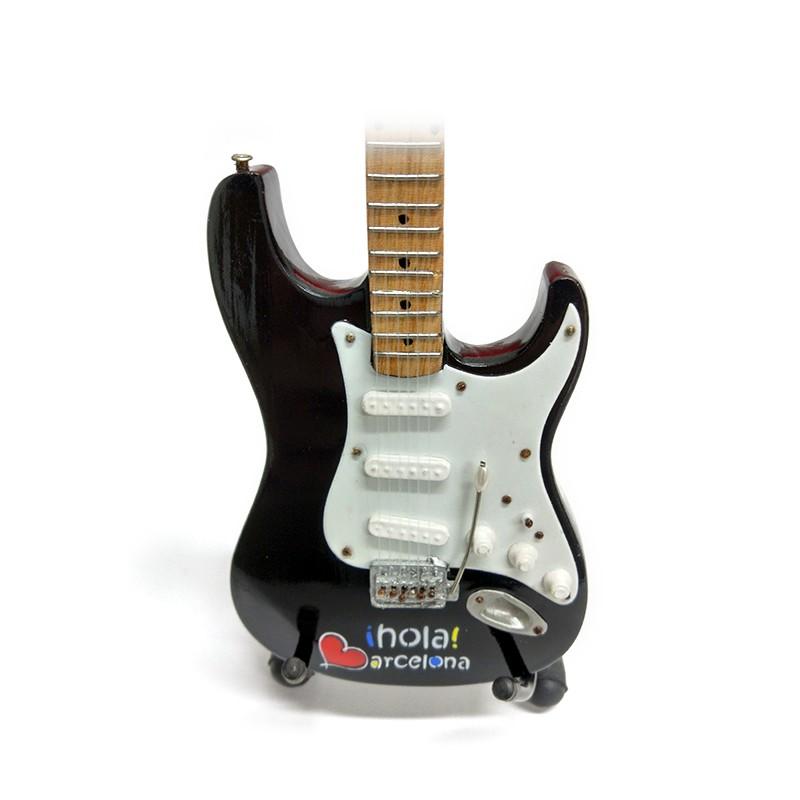 Mini Guitarra De Colección Tributo Hola Barcelona -2