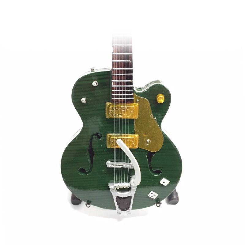 Mini Guitarra De Colección Estilo Brian Setzer - 2