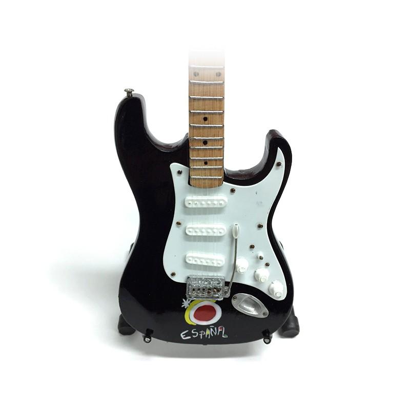 Mini Guitarra De Colección Tributo España -3