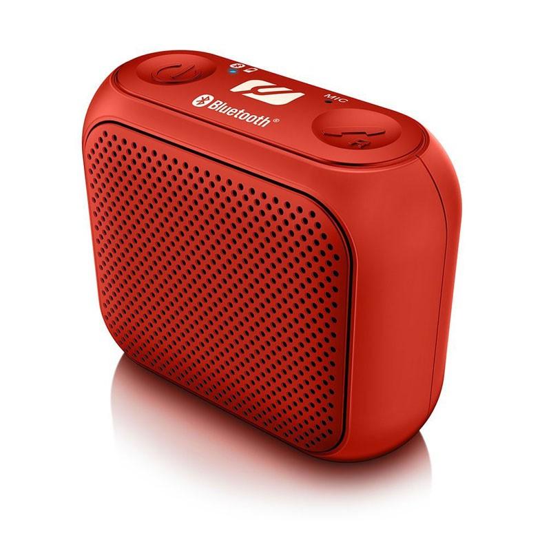 Altavoz Portátil Bluetooth Muse M-312 BT Rojo