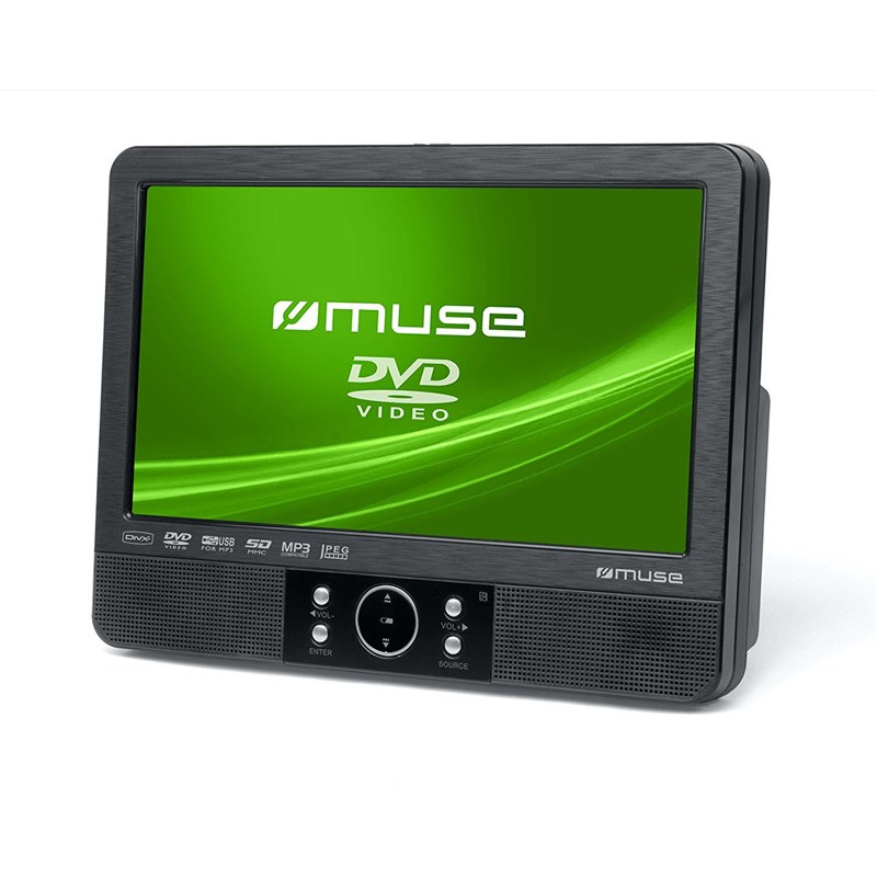 Reproductor DVD Portátil Muse M-920 CVB