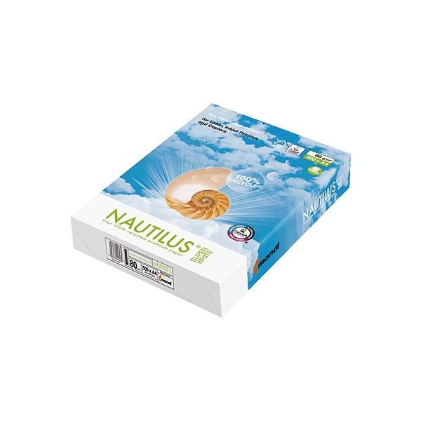 Papel Multifuncion Nautilus 406-WEIS-80-510 DIN-A4 80g 500h