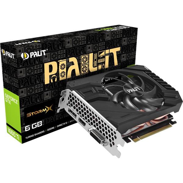 Tarjeta Gráfica Palit GeForce GTX 1660 Ti StormX 6GB GDDR6