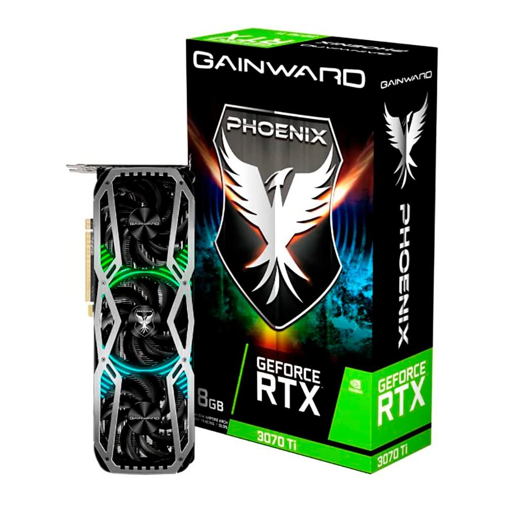 Tarjeta Gráfica Gainward RTX 3070 Ti Phoenix 8GB GDDR6X