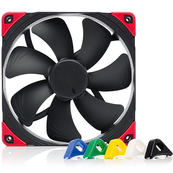 Ventilador PC Noctua NF-A14 PWM chromax.black.swap 140mm