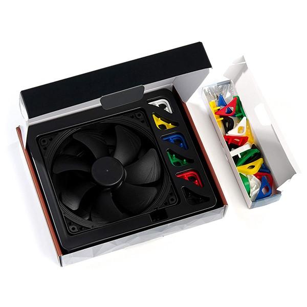 Ventilador PC Noctua NF-A14 PWM chromax.black.swap 140mm