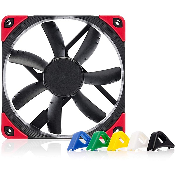 Ventilador PC Noctua NF-S12A PWM chromax.black.swap 120mm