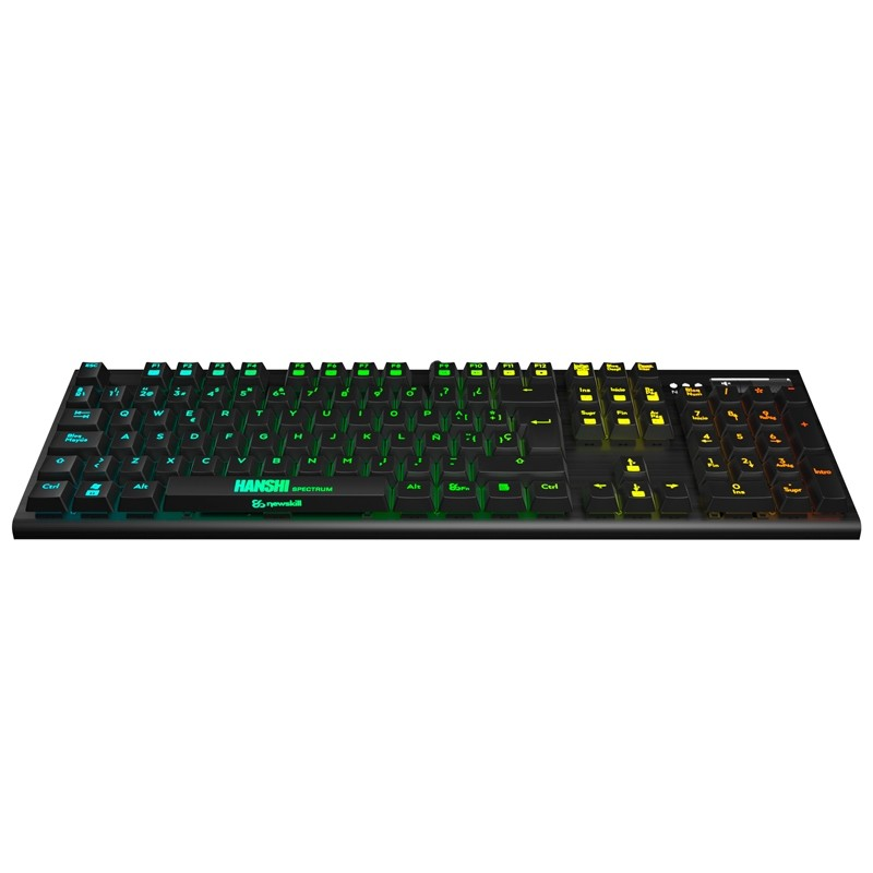 Teclado Gaming NewSkill Hanshi-Brown