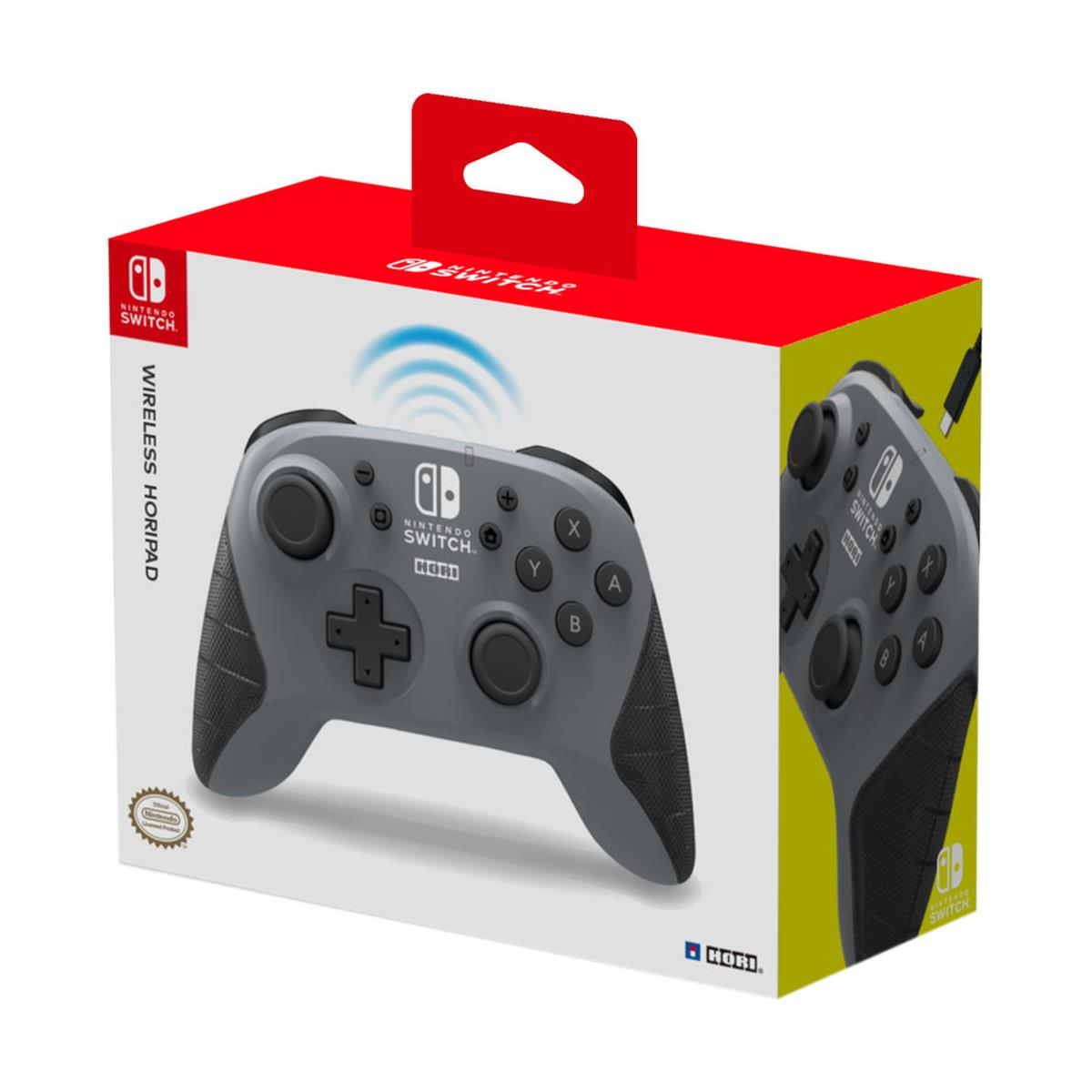 Nintendo Switch Mando Hori Wireless Gris