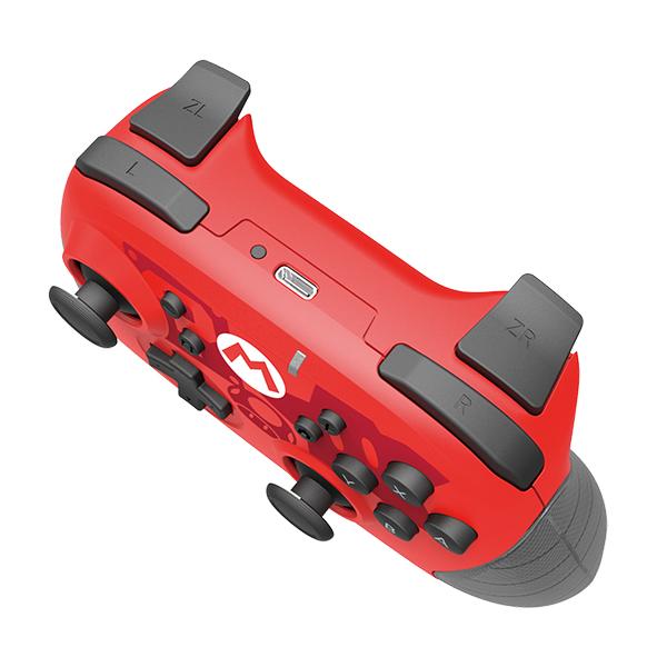 Nintendo Switch Mando Inalámbrico Hori Edición Mario Rojo