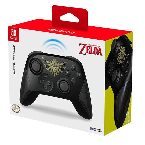 Nintendo Switch Mando Inalámbrico Hori Edición Zelda Negro