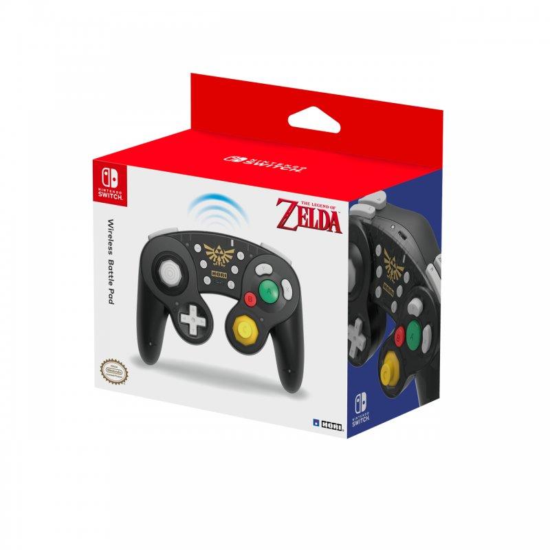 Nintendo Switch Mando Hori BattlePad Inalámbrico Zelda