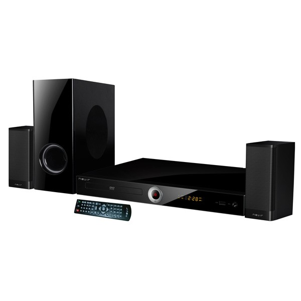 Home Cinema 2.1 con DVD Nevir NVR-711DCDUC