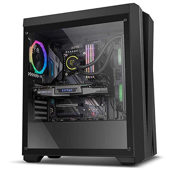 Caja PC ATX NOX Hummer Fusion RGB Con Ventana