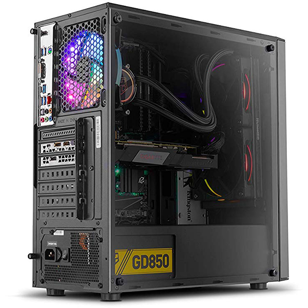 Caja PC ATX NOX Infinity Omega RGB Con Ventana