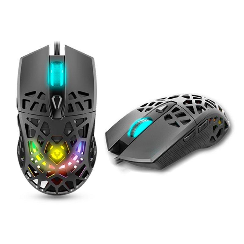 Ratón Óptico USB Krom KAIYU RGB 12000 DPI