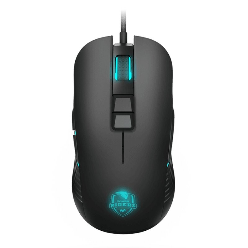 Ratón Gaming Krom Movistar Riders Avago 3300 7200DPI