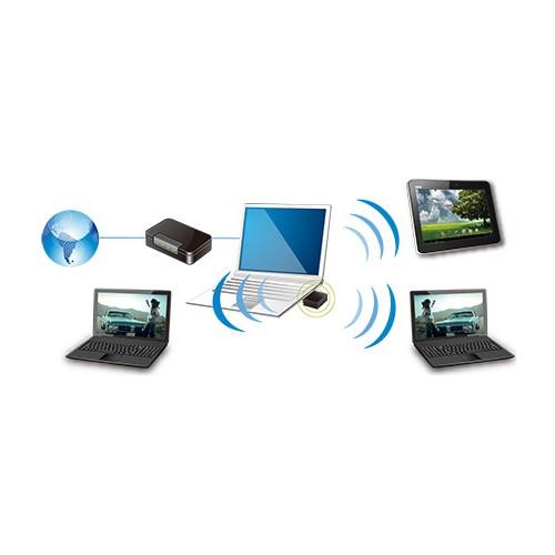 Nano Adaptador WIFI Externo ASUS USB-N10 NANO 150Mbps