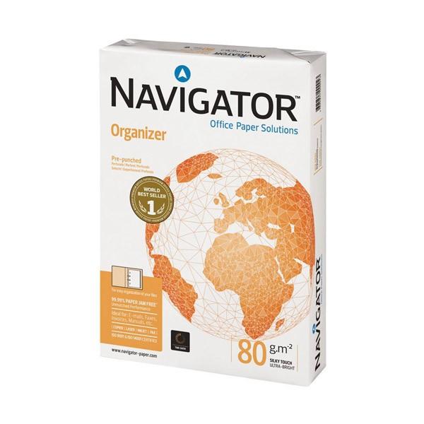 Papel Navigator Organizer DIN-A4 80g pack 500 pcs