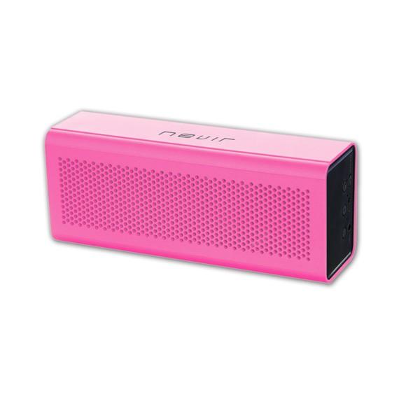 Altavoz Portatil Bluetooth con Manos Libres NVR-820B Rosa