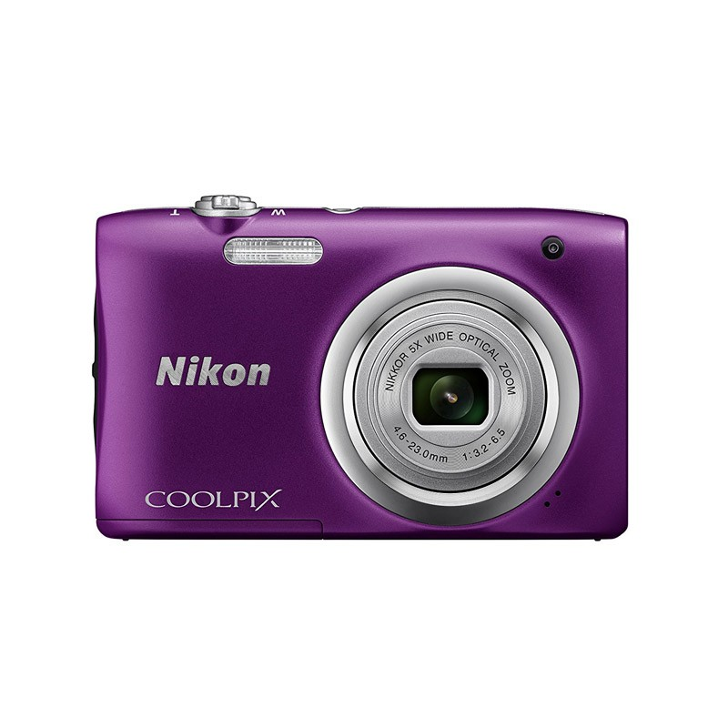 Cámara Digital Nikon Coolpix A100 Morada