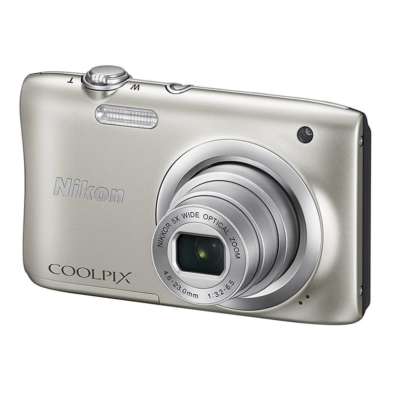 Cámara Digital Nikon Coolpix A100 Plata