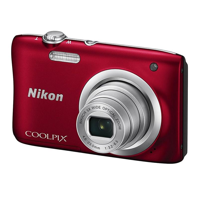 Cámara Digital Nikon Coolpix A100 Roja