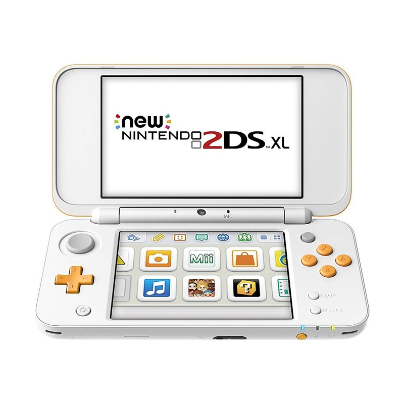 New Nintendo 2DS XL Blanco / Naranja