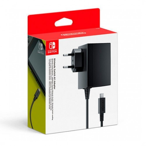 Nintendo Switch Adaptador de Corriente Oficial