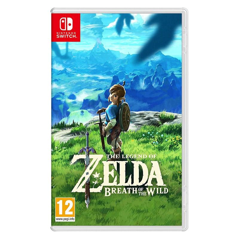Nintendo Switch Juego The Legend of Zelda: Breath of the Wild