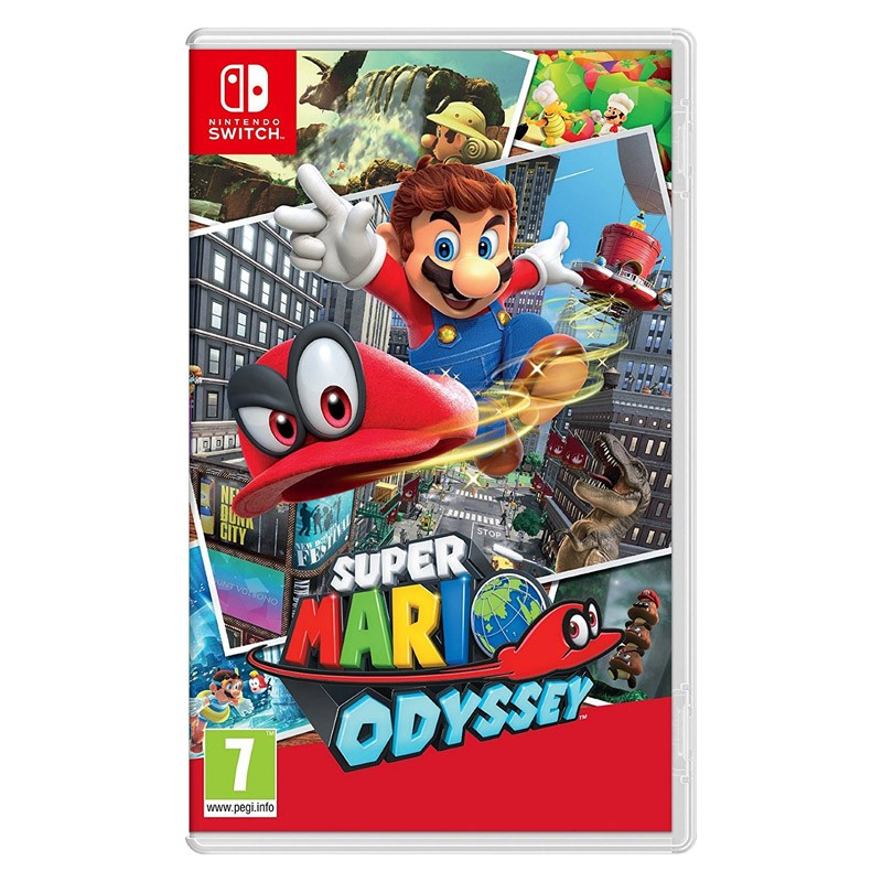 Nintendo Switch Juego Super Mario Odyssey