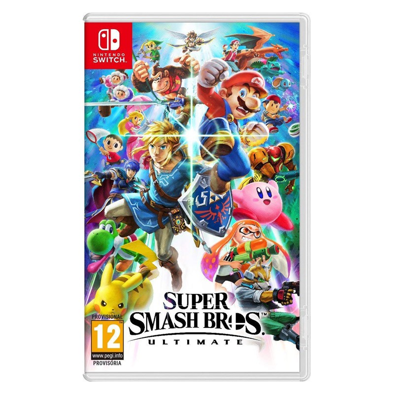 Nintendo Switch Juego Super Smash Bros Ultimate