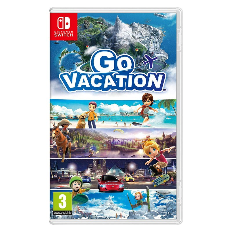 Nintendo Switch Juego Go Vacation