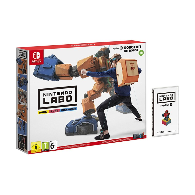 Nintendo switch juego nintendo labo kit robot toy-con 02