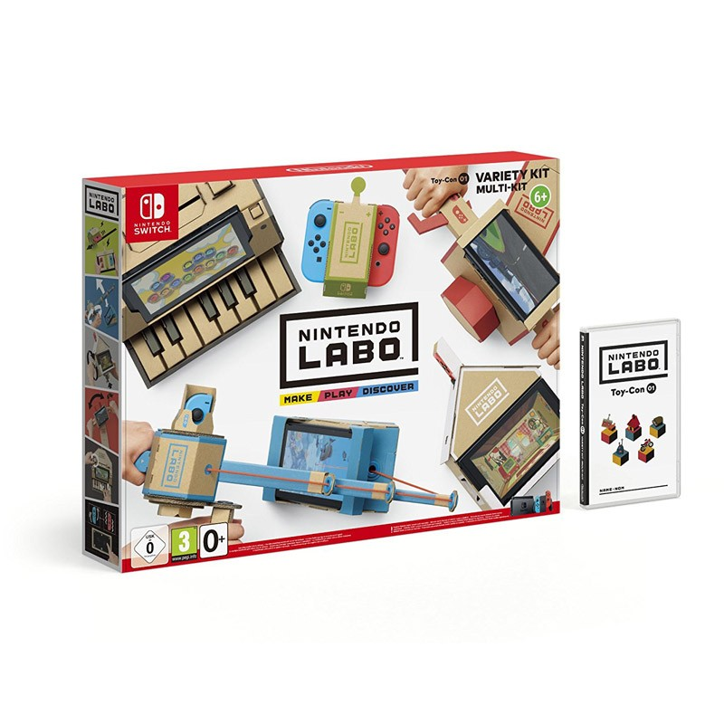 Nintendo Switch Juego Nintendo Labo Kit Variado TOY-CON 01