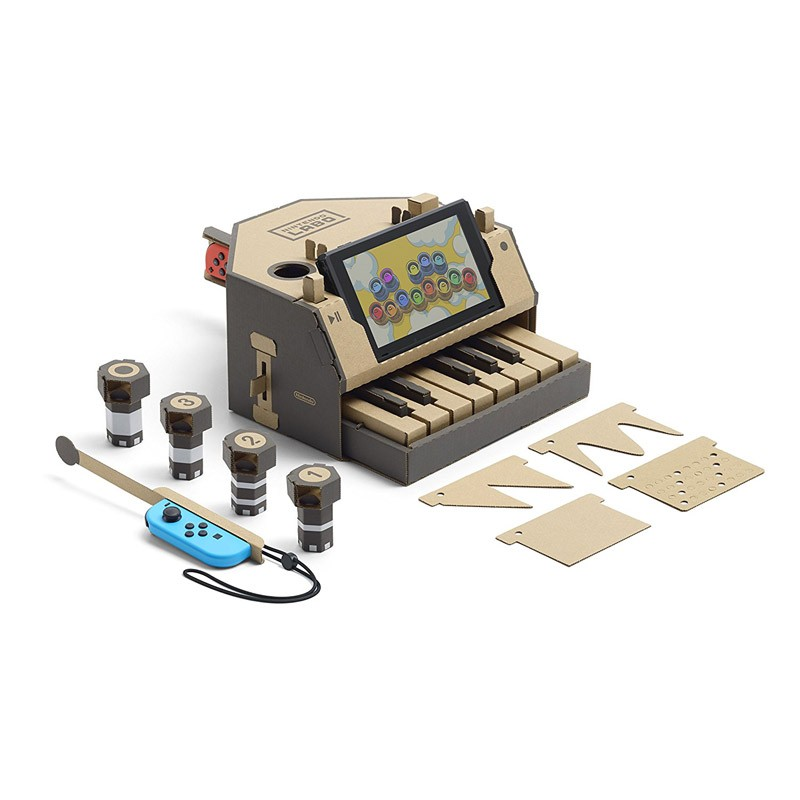 Nintendo Switch Juego Nintendo Labo Kit Variado TOY-CON 01
