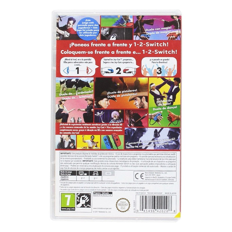 Nintendo Switch Juego 1-2 Switch