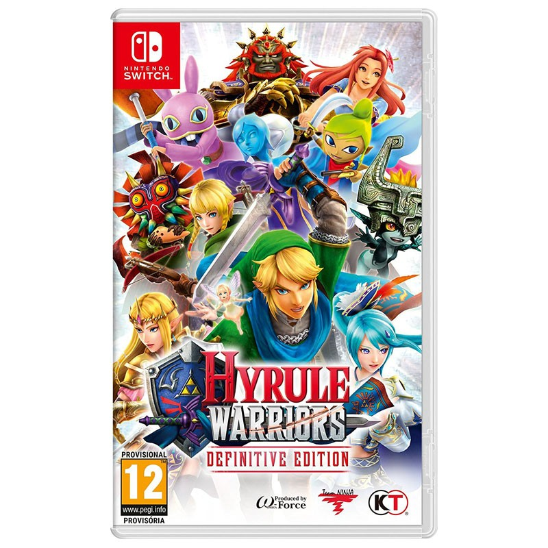 Nintendo Switch Juego Hyrule Warriors