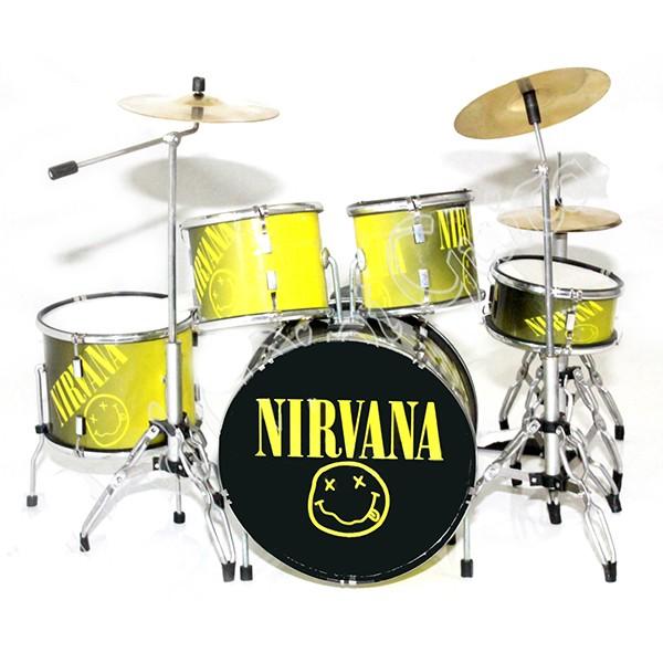 Mini Batería De Colección Estilo Nirvana