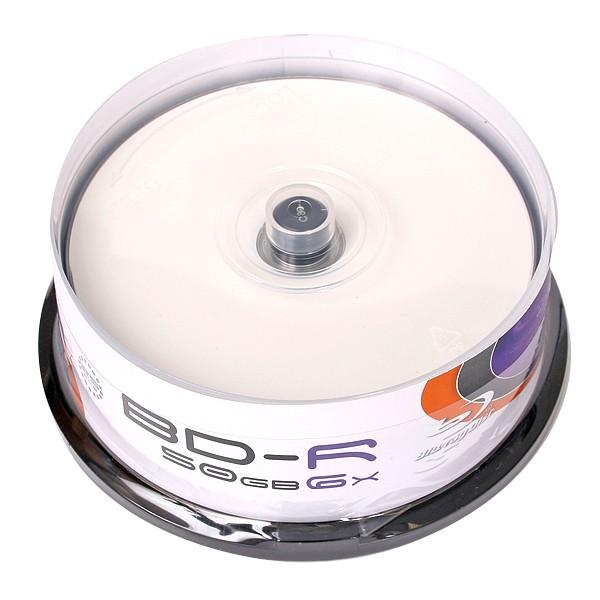 Blu-ray BD-R DL 50GB 6X Omega Freestyle FF Printable Tarrina 25 uds